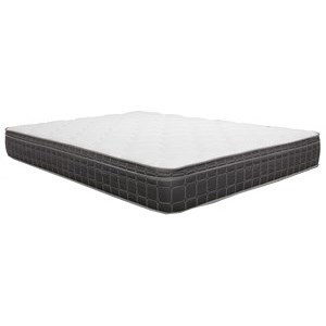 "King 8 1/2"" Innerspring Euro Top Mattress"