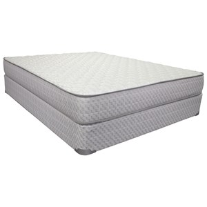 "Corsicana 1020 Broyton Firm Queen 9 1/2"" Firm Innerspring Mattress Set"