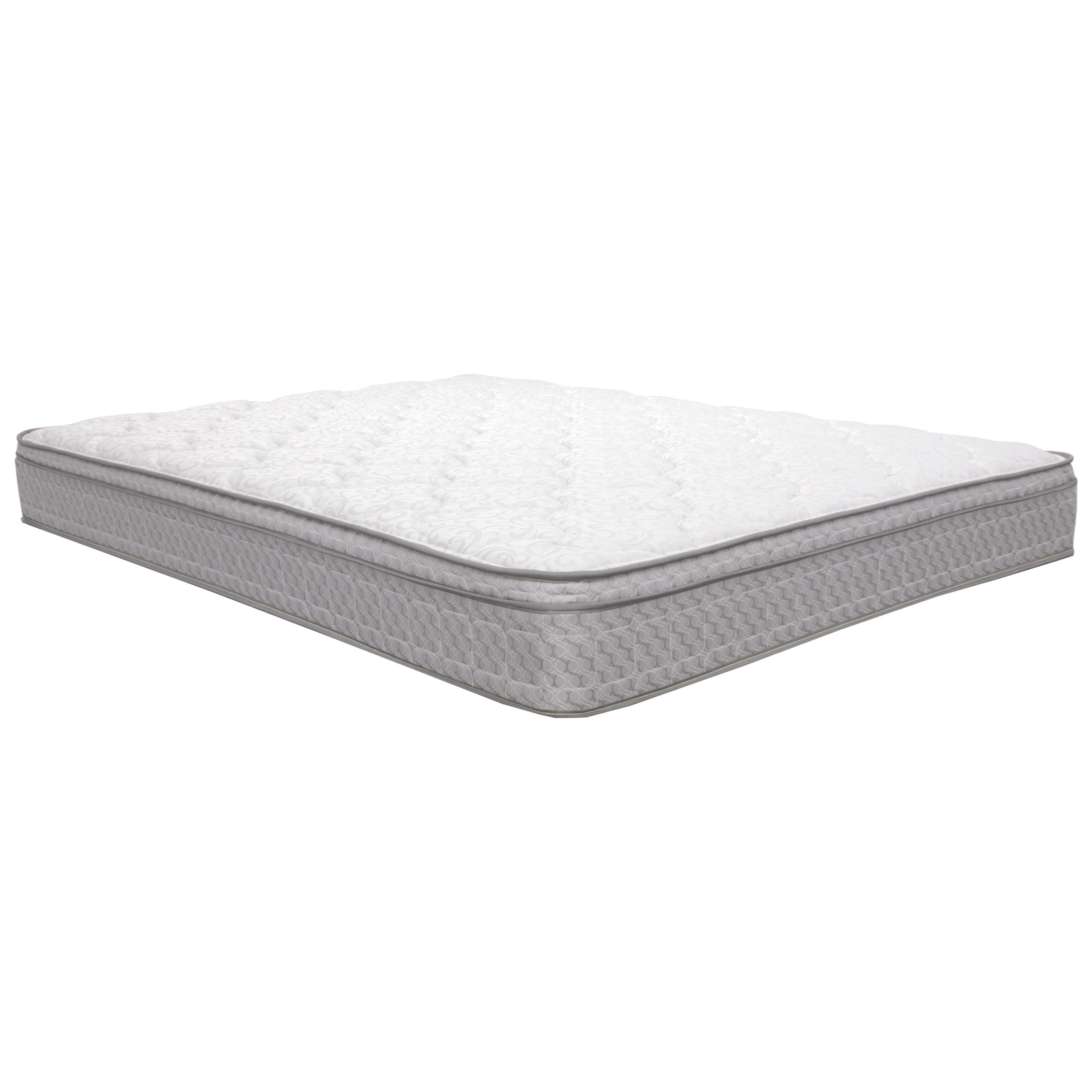 "Corsicana 1025 Broyton Euro Top Twin 9 1/2"" Euro Top Innerspring Mattress - Item Number: 1025-T"