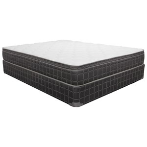 "Corsicana 1025 Charlesworth Euro Top Queen 9.5"" Euro Top Mattress Set"