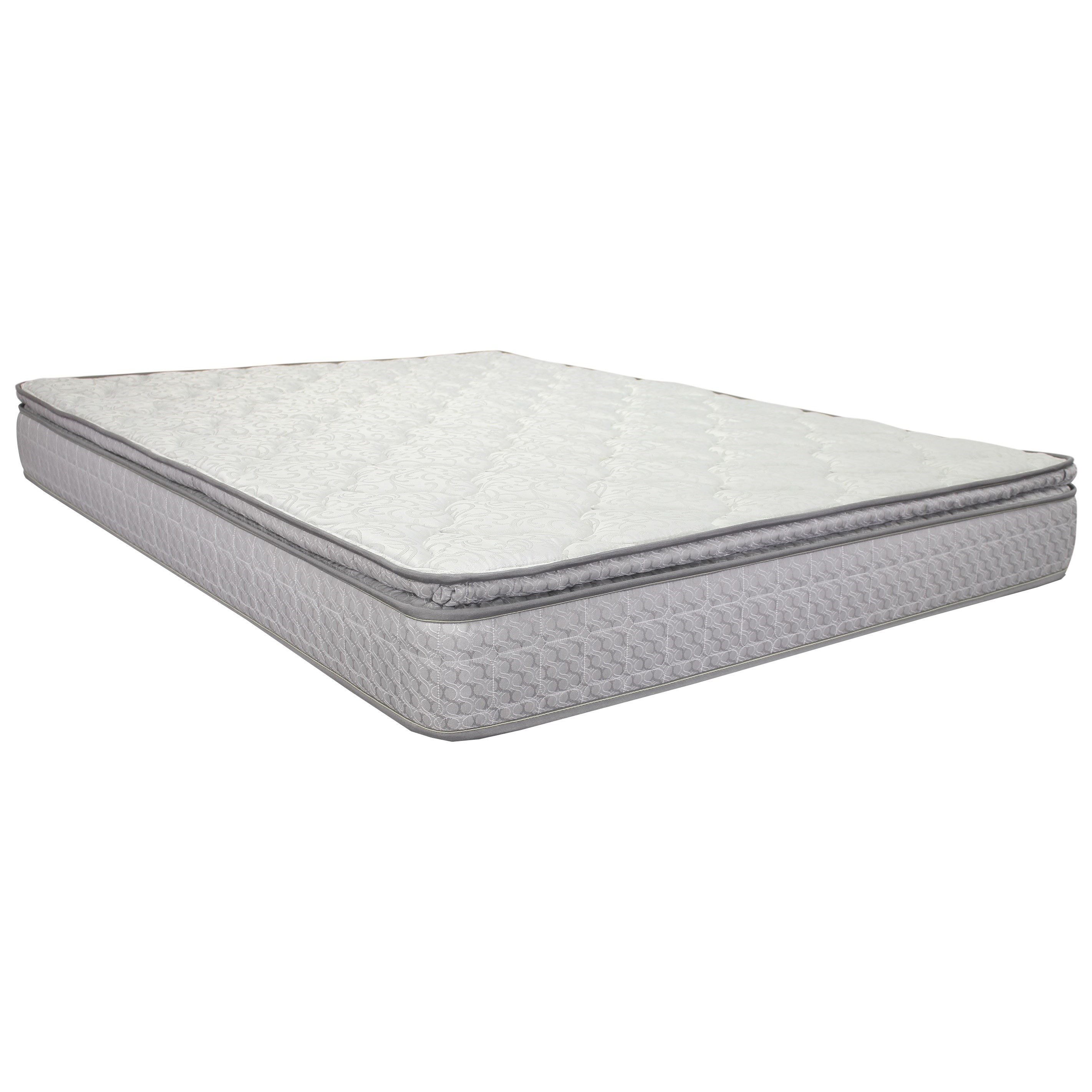 "Twin 9 1/2"" Pillowtop Innerspring Mattress"