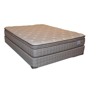 Corsicana 115 Pillow Top King Pillow Top Mattress Set