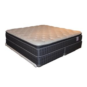 Corsicana 135 Pillow Top Queen Pillow Top Mattress Set