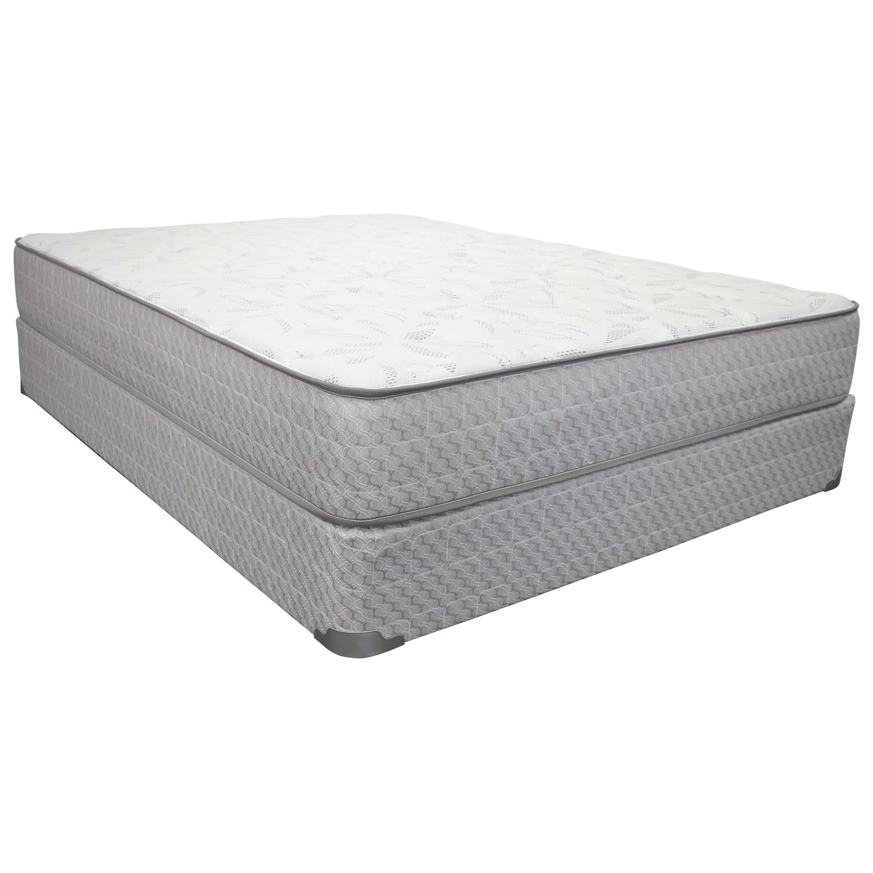 "Twin 10 1/2"" Plush Innerspring Mattress Set"