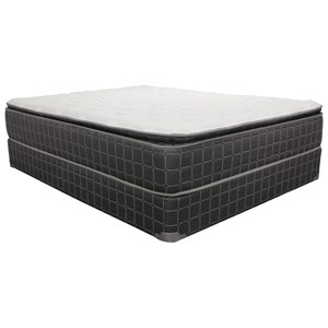 "Corsicana 1510 Cresswell Pillow Top King 10.5"" Pillow Top Mattress"
