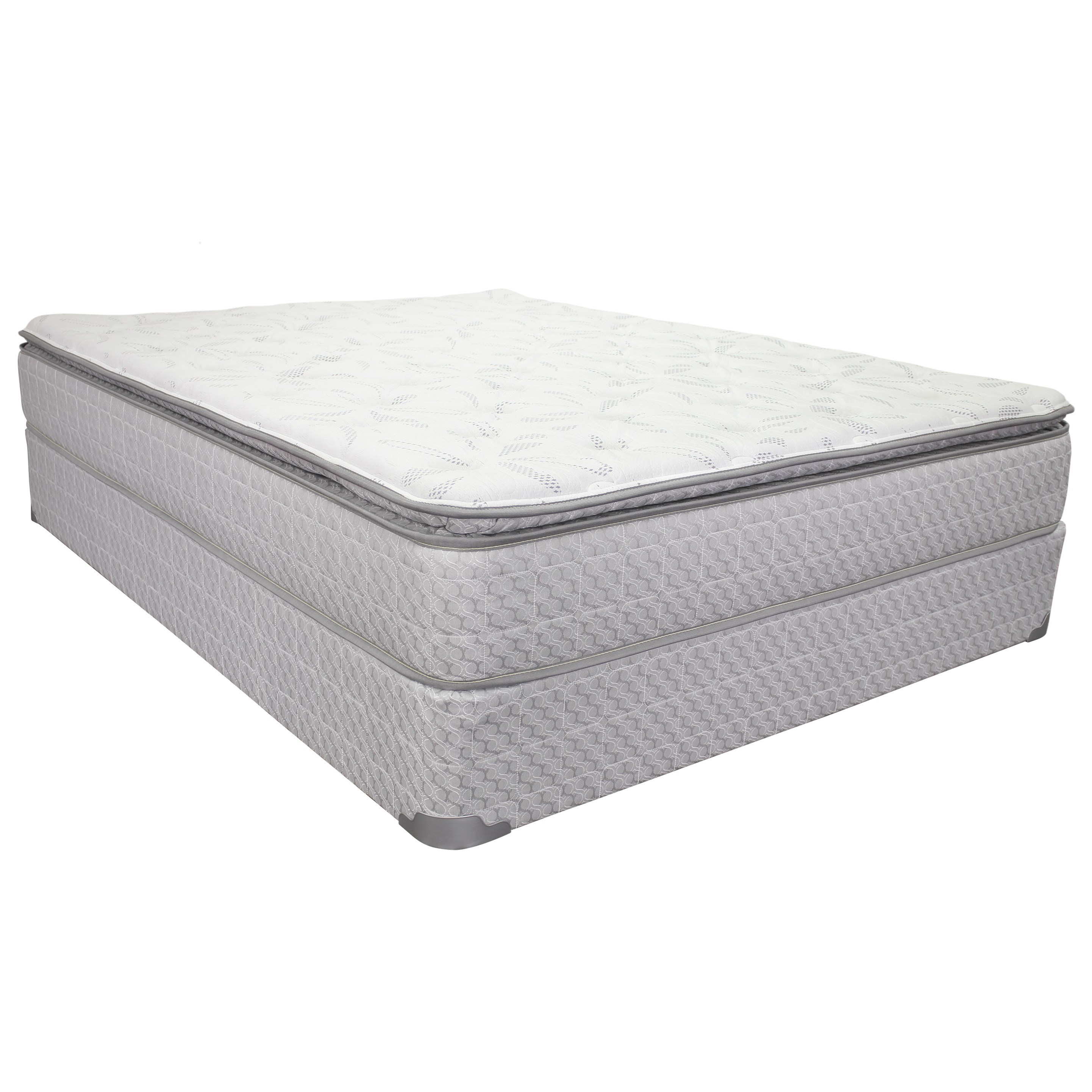 "Queen 10 1/2"" Pillow Top Mattress Set"
