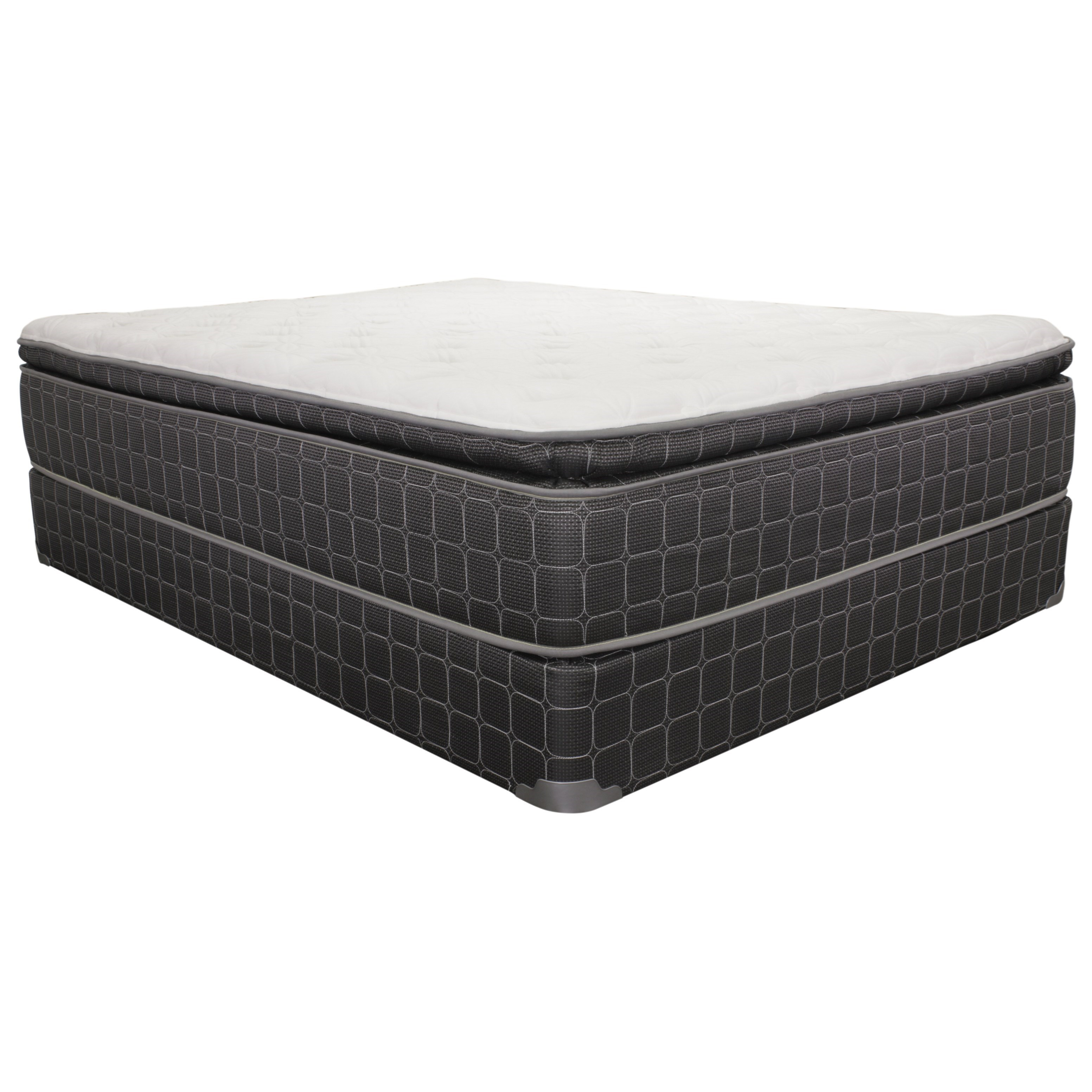 "Queen 14"" Pillow Top Mattress Set"