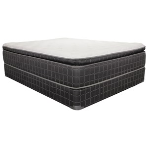 "Corsicana 1535 Nocturna Pillow Top King 14"" Pillow Top Mattress"