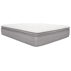 """Corsicana 1535 Vitalia Pillow Top King 15"""" Pillow Top Mattress"""