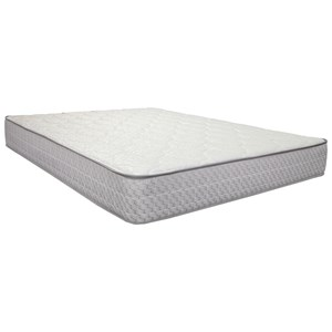 "Corsicana 2000 Merrick Firm King 9 1/2"" Firm Two Sided Mattress"