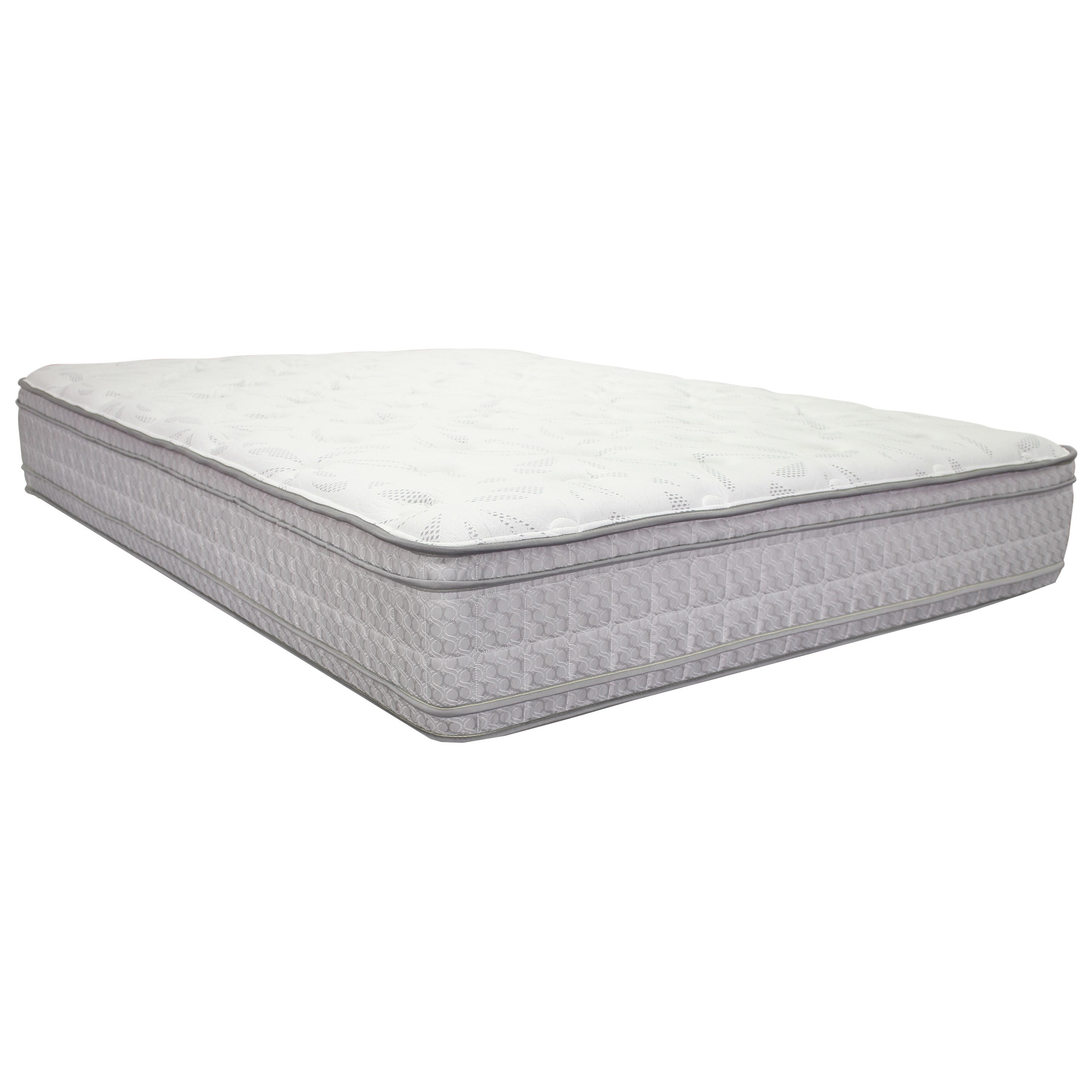 "Corsicana 2010 Merrick Euro Top Queen 12"" Two Sided Euro Top Mattress - Item Number: 2010-Q"