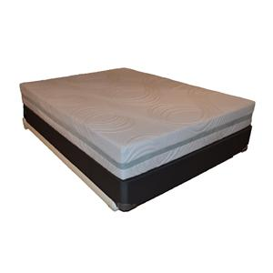 Corsicana 9600 Cool Reflections Queen Gel Memory Foam Mattress