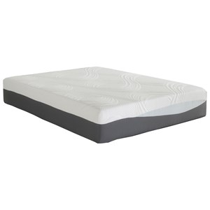 "Corsicana 9620 Phase III Gel Queen 12"" Plush Gel Memory Foam Mattress"