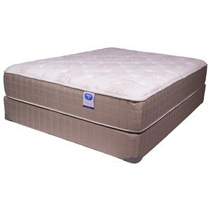 "Corsicana Blvd Bentley Plush Twin 13"" Plush Mattress Set"