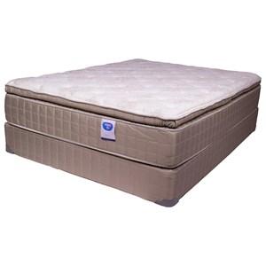 "Spring Air Blvd Zoey PT King 14"" Pillow Top Mattress Set"