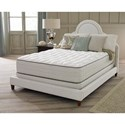 "Corsicana Body Contours III Full 13"" Firm Mattress Set - Item Number: 110-F+Wood9-F"