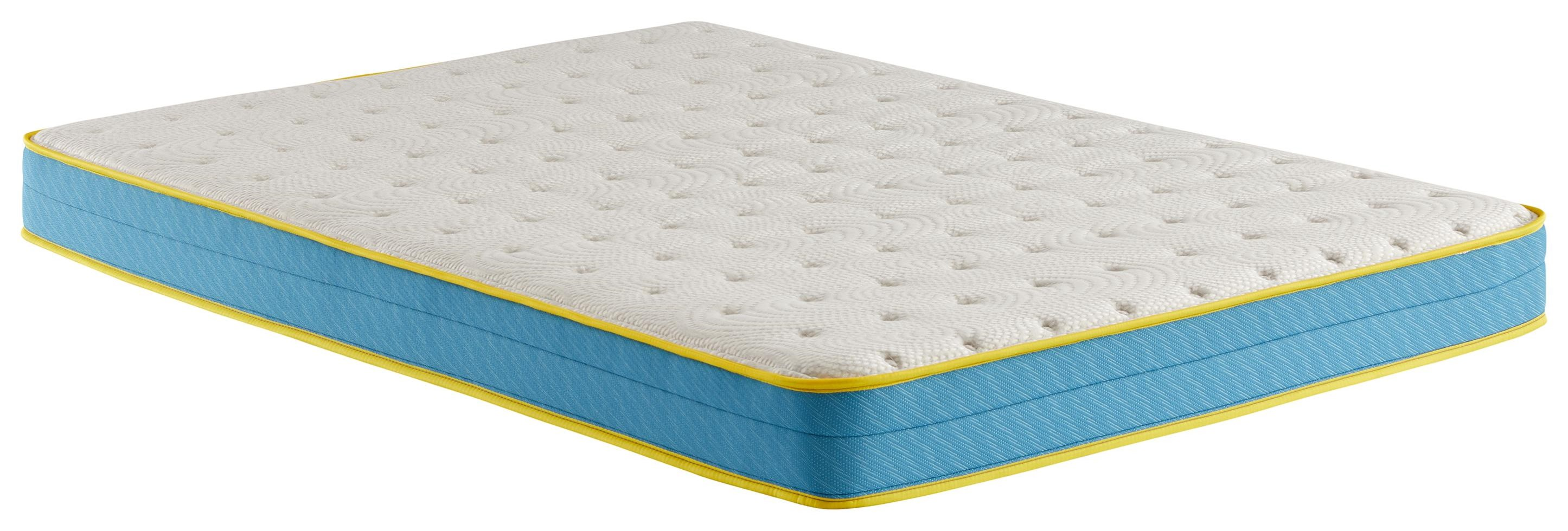 "Fairytale Town 6"" King Comfort Foam Mattress by Corsicana at Beck's Furniture"