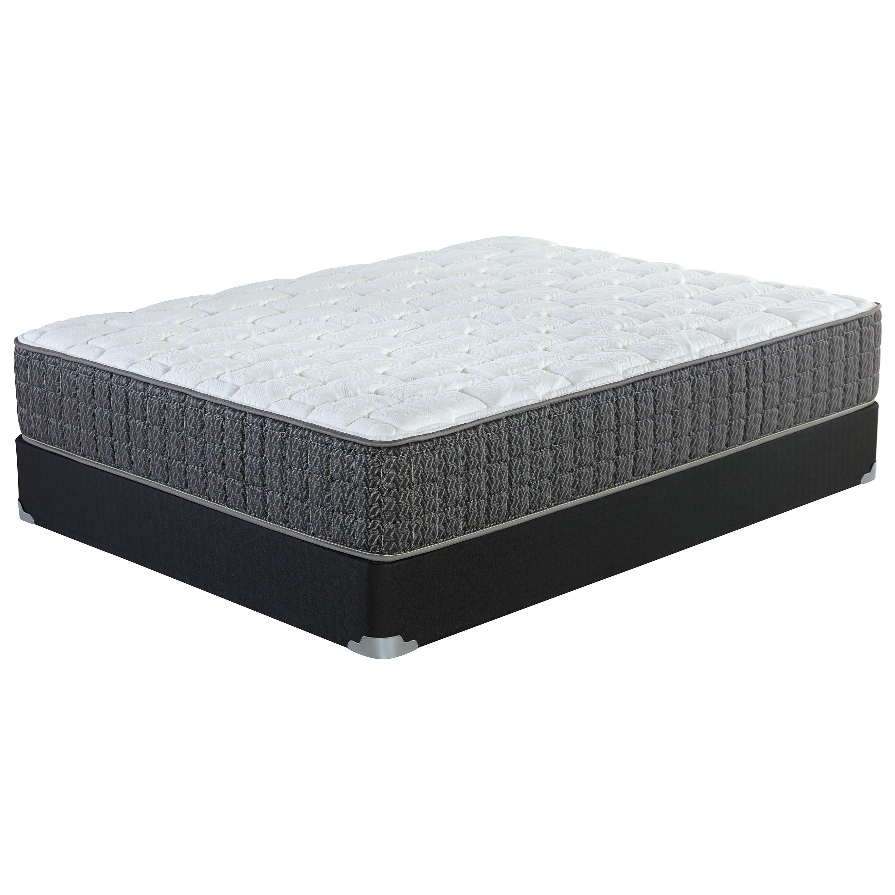 Queen Firm Pocketed Coil Mattress Set