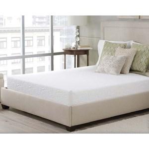 "Corsicana Luxen Bed In A Box King 8"" Memory Foam Mattress in a Box"