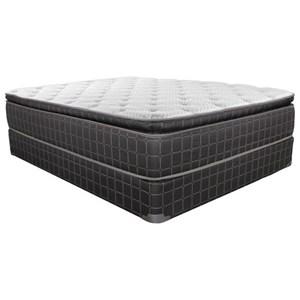 King Pillow Top Innerspring Low Profile Set