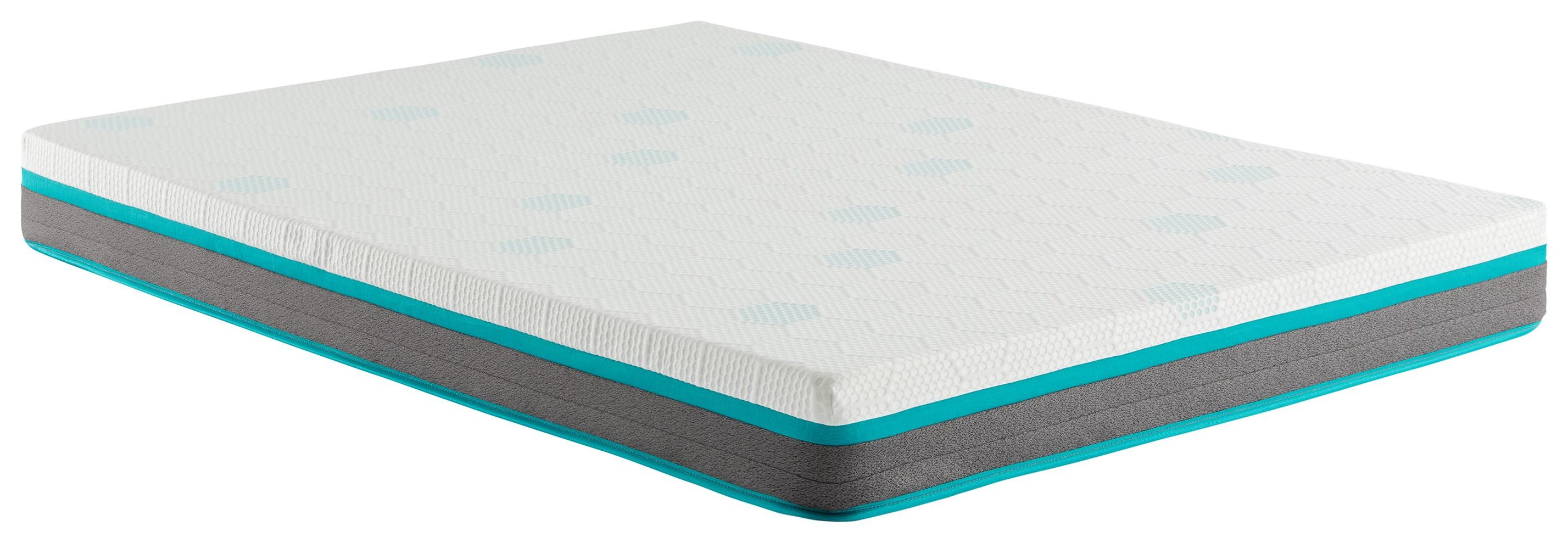 "Sutter's Fort 7"" King Memory Foam Mattress by Corsicana at Beck's Furniture"