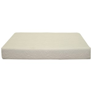 """Rooms and Rest Mattress Visco 8 King 8"""" Memory Foam Mattress"""
