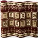 "Couristan Corinthian 26"" Runner : Burgundy  - Item Number: 898001260"