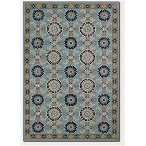 Couristan Starcrest 8 x 11 Area Rug : Blue