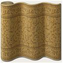 "Couristan English Manor Windermere 26"" Runner : Gold - Item Number: 898001424"