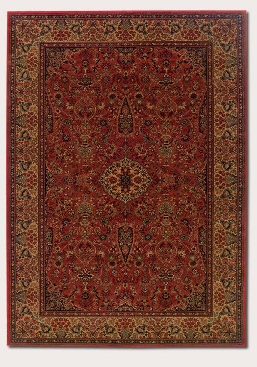Couristan Ellington 7.10 x 11.2 Area Rug : Red - Item Number: 924967257