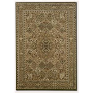 Couristan Ellington 5.3 x 7.6 Area Rug : Gold