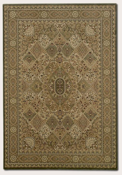 Couristan Ellington 9.2 x 12.5 Area Rug : Gold - Item Number: 924967586
