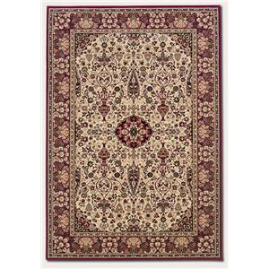Couristan Ellington 5.3 x 7.6 Area Rug : Ivory