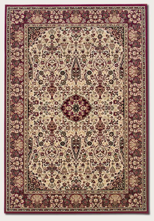 Couristan Ellington 7.10 x 11.2 Area Rug : Ivory - Item Number: 924967447