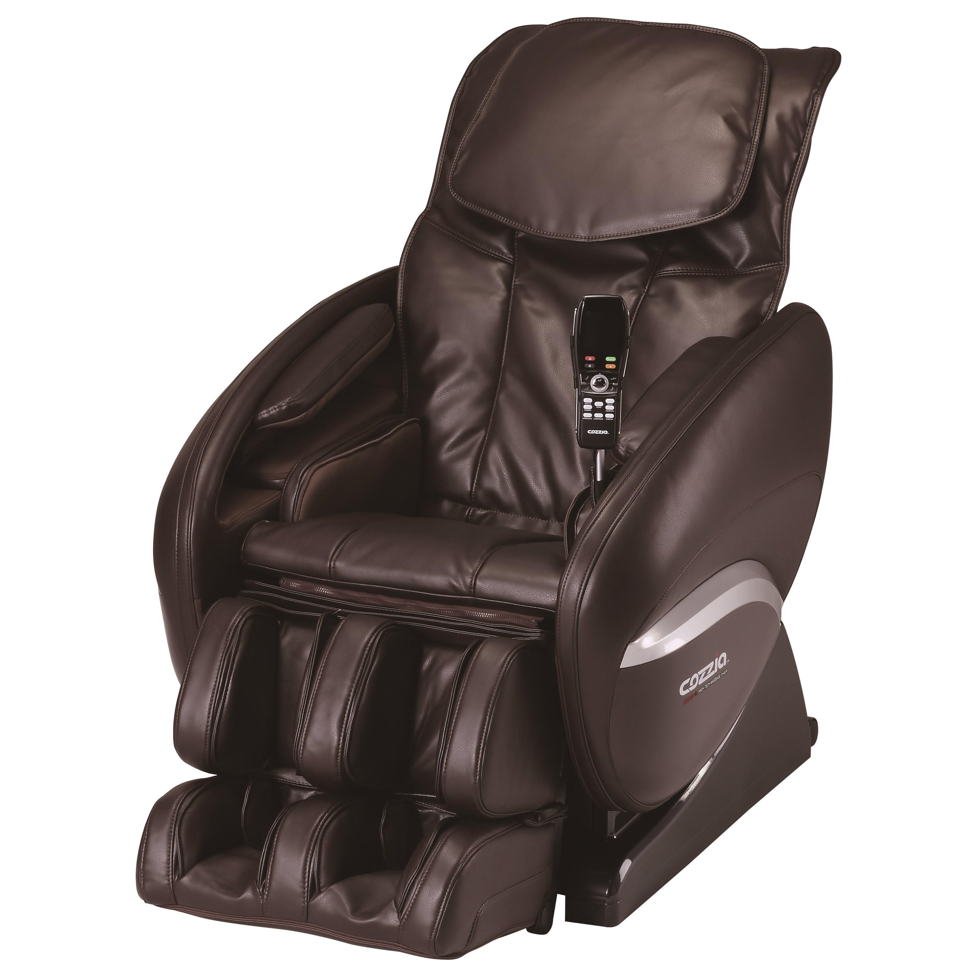 Reclining Massage Chair cozzia cz zero gravity reclining massage chair - hudson's