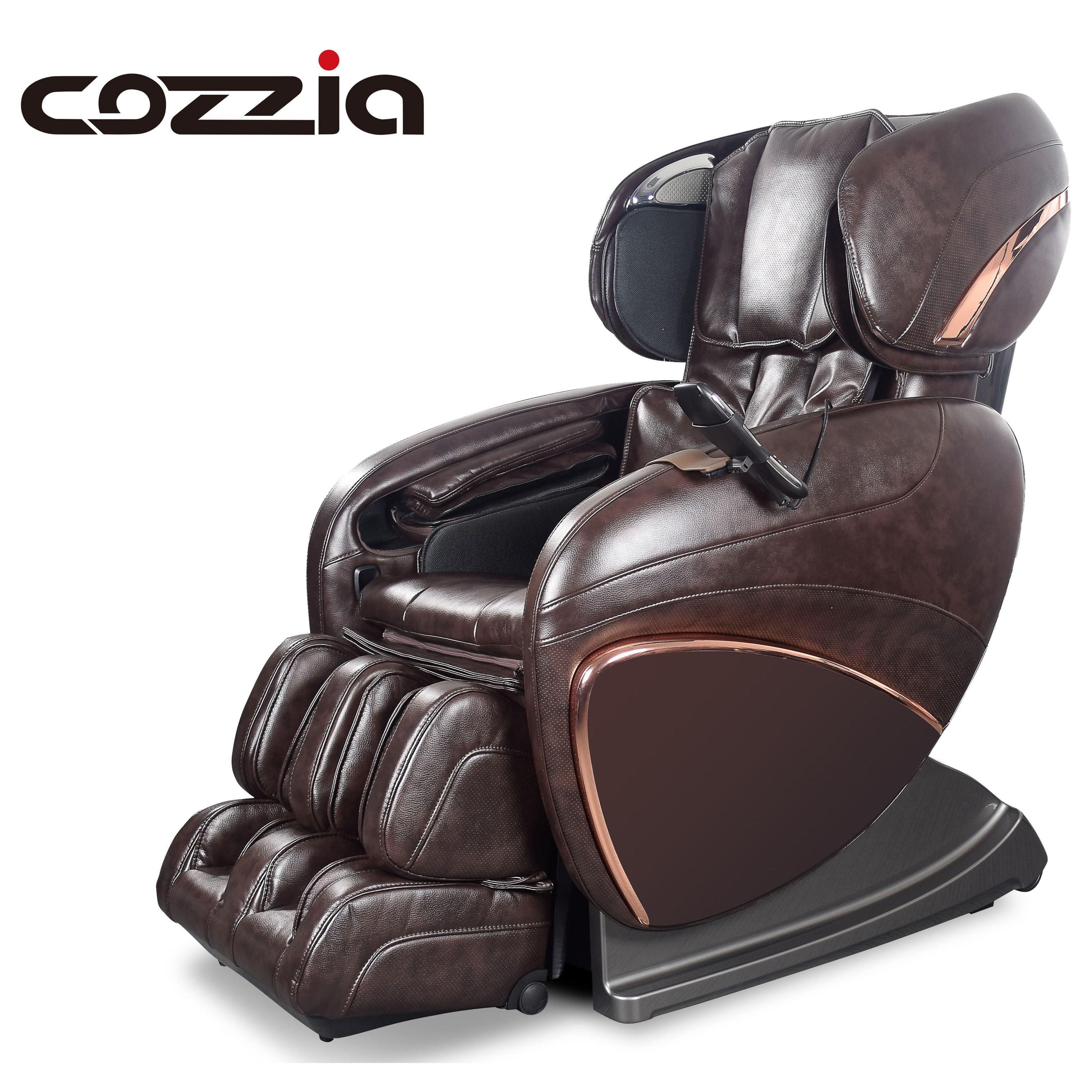 Cozzia CZ Reclining 3D Zero Gravity Massage Chair Hudsons