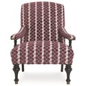 C.R. Laine Aledo Accent Chair - Item Number: 1665-Molly Dot Grape