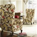 C.R. Laine Accents Cordell Contemporary Wing Chair - 1275 - Shown in Room Setting