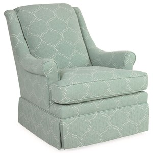 C.R. Laine Holden Swivel Glider Chair