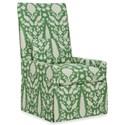 C.R. Laine Hollis Slipcover Chair - Item Number: 255-Chenonceau Lettuce