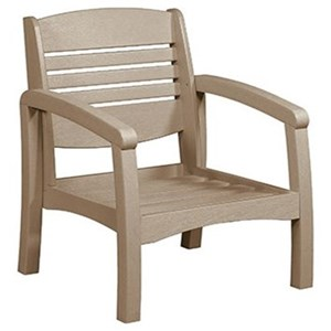 C.R. Plastic Products Bay Breeze Outdoor Arm Chair