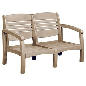 C.R. Plastic Products Bay Breeze Outdoor Loveseat