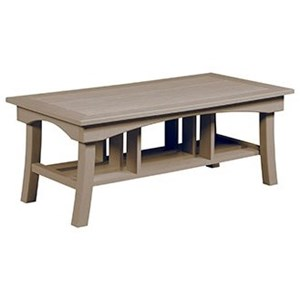 C.R. Plastic Products Bay Breeze Outdoor Coffee Table