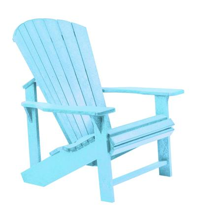 C.R. Plastic Products Adirondack Adirondack Chair   Item Number: C01 11