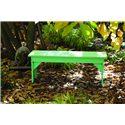 C.R. Plastic Products Adirondack - White Basic Bench
