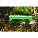 C.R. Plastic Products Adirondack - Aqua Basic Bench
