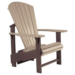 Adirondack Upright Chair