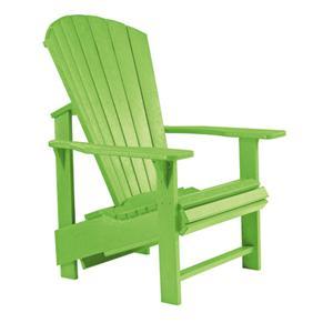 C.R. Plastic Products Generation Line Adirondack Upright Chair