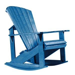 C.R. Plastic Products Adirondack - Blue Addy Rocker
