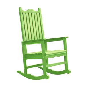 C.R. Plastic Products Adirondack - Kiwi Porch Rocker